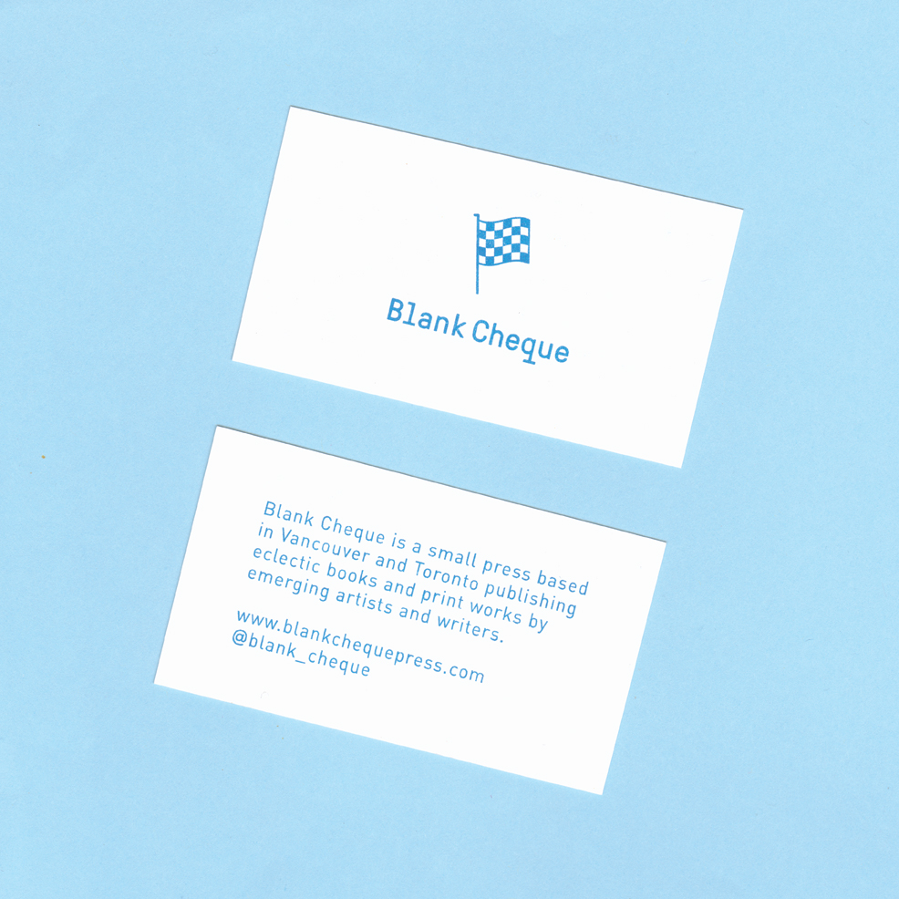 Blank Cheque Press